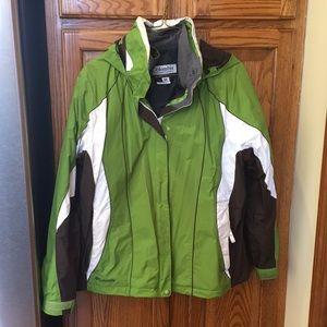 Columbia 2 in one coat